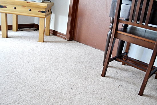 bedroom, carpet, vacuuming, Bissell Vacuum
