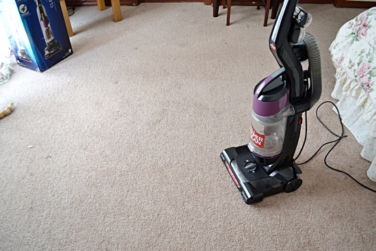 vacuum review, Bissell ClearView Vacuum