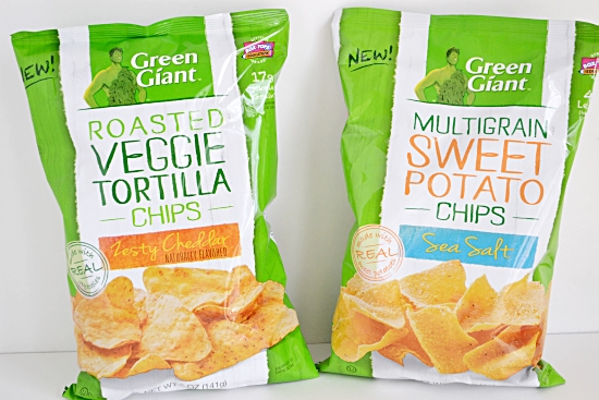 Green Giant, Veggie Chips, Healthy snack Chips,