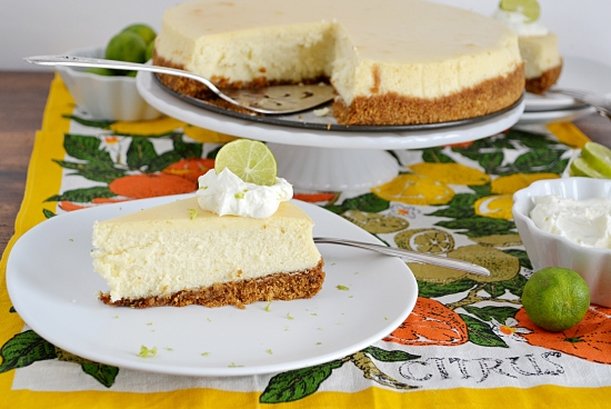 Key Lime Cheesecake #SundaySupper | Flour On My Face