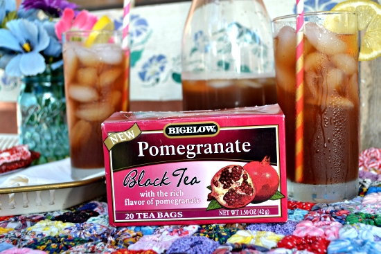 Bigelow, Pomegranate. Iced Tea