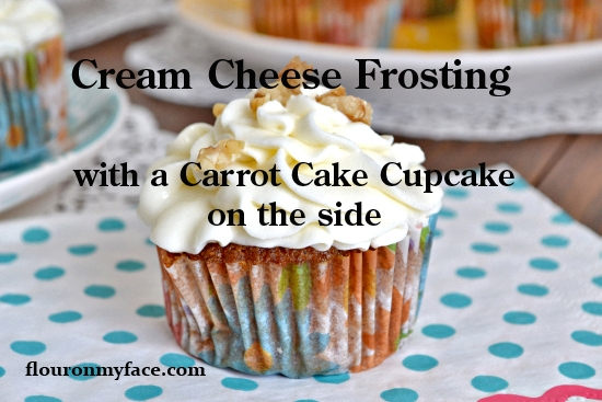 cream cheese frosting, carrot cake cupcakes, Easter, Recipes