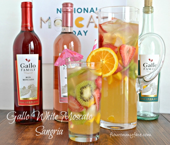 Gallo, Moscato, Wines, National Mascato Day, White Wine Sangria