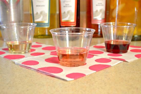 Gallo Mascato Wines, Gallo Mascato Wine Sampling