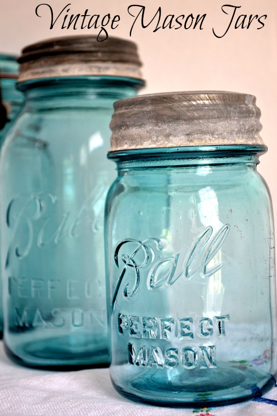 Ball Canning, Jars, Perfect Mason, Ball Blue Jars