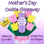 Mothers Day, Gourmet Cookies, Cookie Bouquet