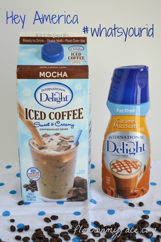 iced coffee, International Delight, coffee ice pops, #whatsyourid