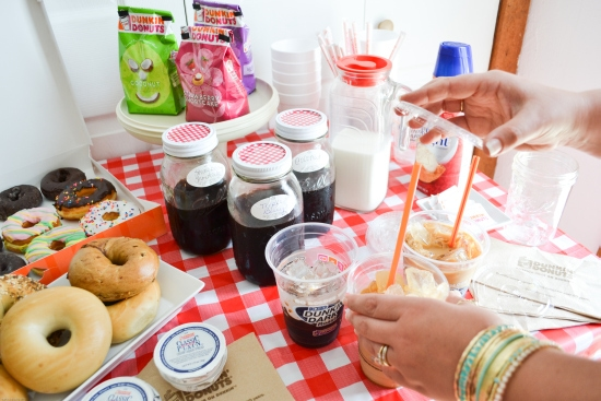 Dunkin Donuts, coffee, seasonal flavors, Spring flavors, brunch
