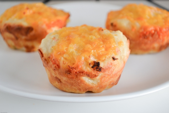 Onion Cheddar Muffin Recipe | A Vintage Family Recipe