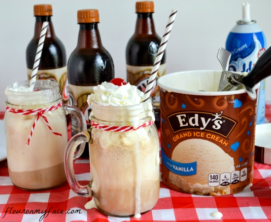 A&W Root Beer Floats, ice cream floats