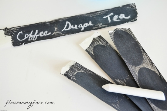 easy, diy, chalk, labels, chalkboard canning labels, how to
