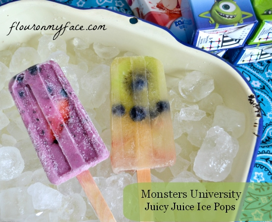 Monsters University and JuicyJuice Ice Pops