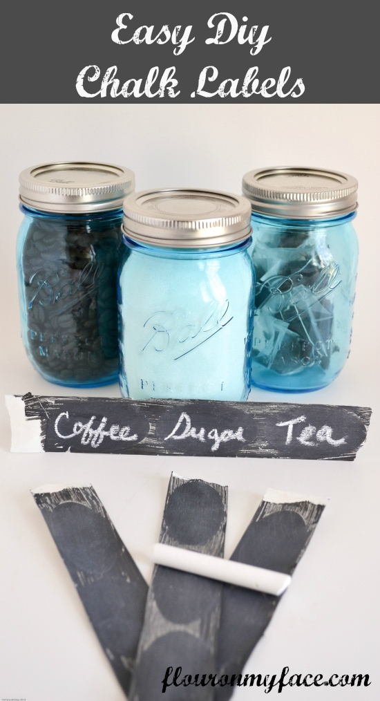 DIY, Chalk, Paint, Labels, Mason Jars