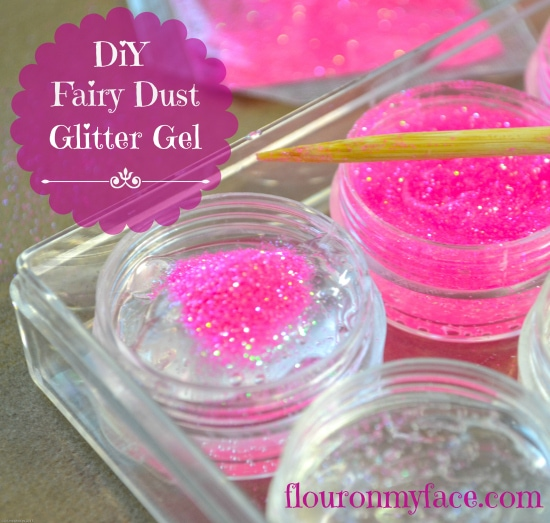 DIY Fairy Dust, Glitter Gel, fairies, fairy party, fairy theme party,