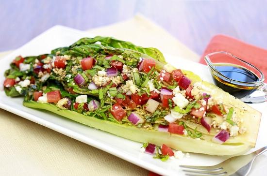 Grilled Romaine BLT Salad Recipes — Dishmaps
