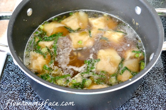 wonton soup, chicken won ton soup recipe