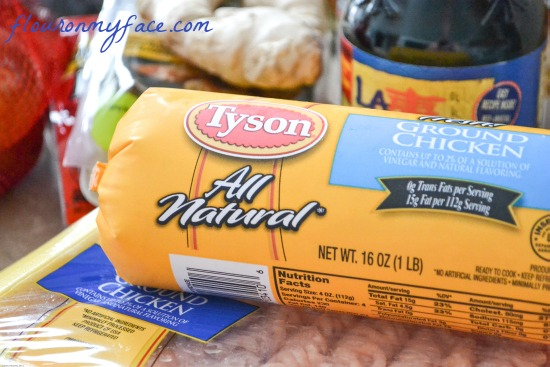 Tyson, ground chicken, chicken recipes, chicken won ton soup
