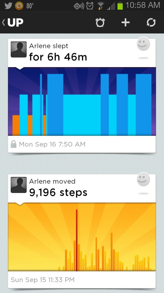 Jawbone, UP, Band, Healthy living,
