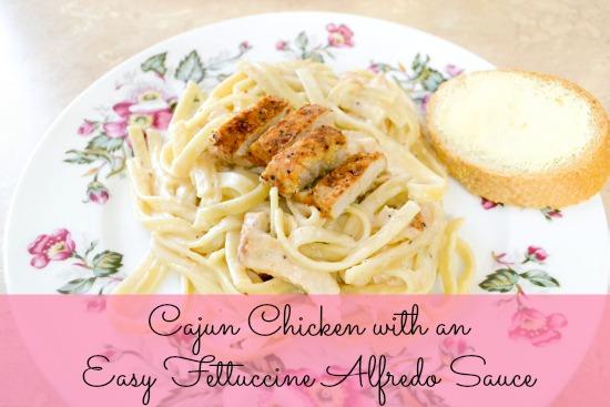 cajun chicken, alfredo, fettuccine, pasta, chicken,  Spicy Cajun Chicken Fettuccine Alfredo
