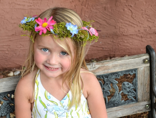 Woodland Fairty, Birthday Party Crowns, DIY Fairy Crowns, Party Favors