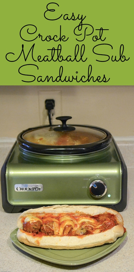 crock pot meatballs, crock pot meatball subs, crock pot recipes