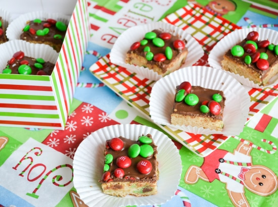 M&M Sugar Cookie Bars | Cookie Exchange Recipe