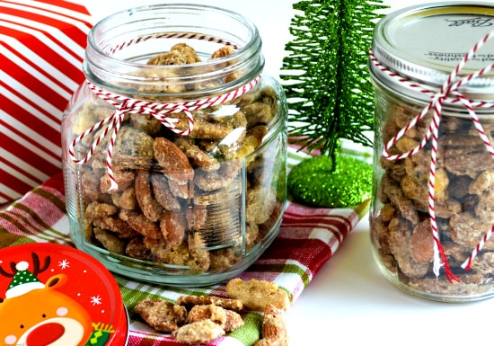 Gifts in a jar, Candied nut recipe, Candied nuts, cinnamon, vanilla recipes, homemade holidays,