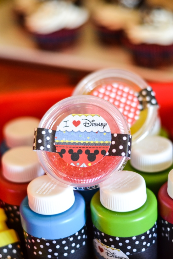 Disney Side party favors