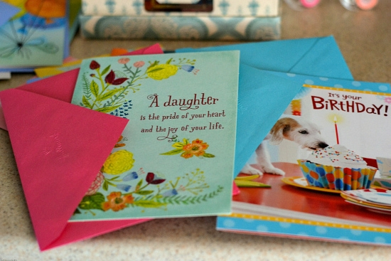 Hallmark Value Cards, Birthday Cards, Storing cards, DIY card storage